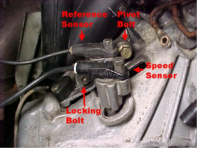 Bellhousing Ground Bolt Speed Ref Sensor Question